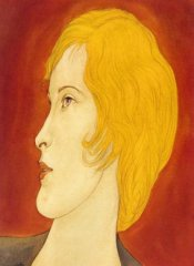 Blond Female in Profile (c. 1933)