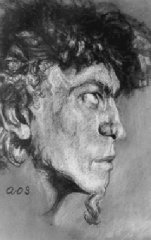 Self Portrait as Pan Satyr (1922)